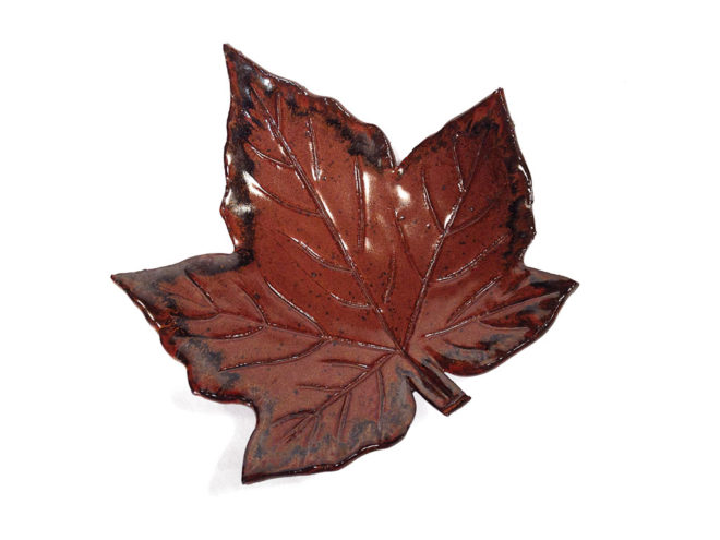 Leaf Shaped Bowl