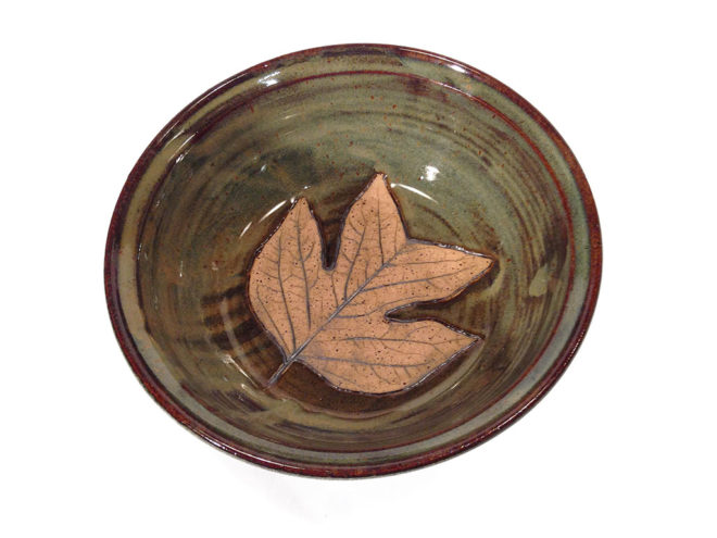 Poplar Leaf Bowl